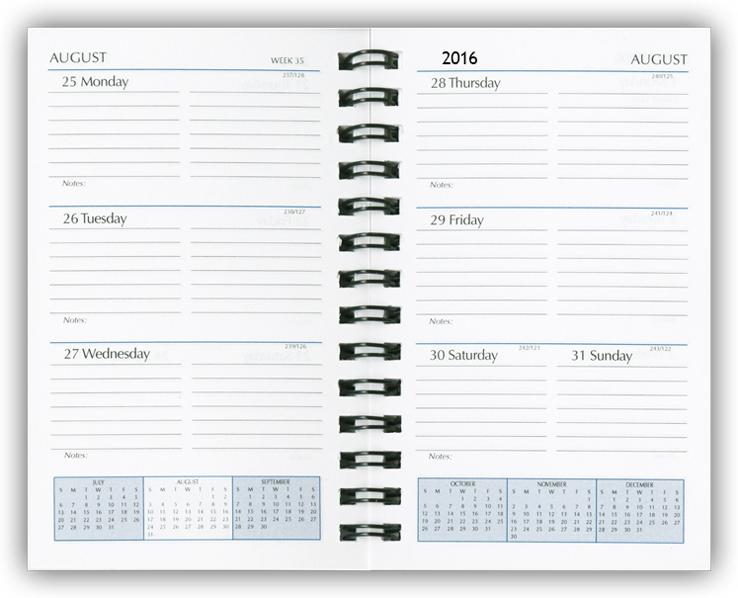 Monthly Calendar Refills : Paper refills planner calendar organizer inserts